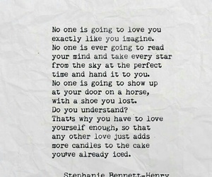 love yourself, quote, and love image