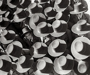 black and white, hat, and portugal image