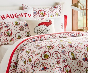 bedding, grinch, and interiorim.com image