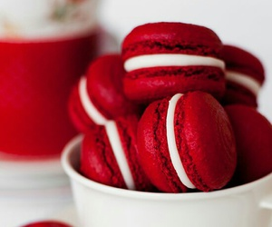 red, food, and sweet image