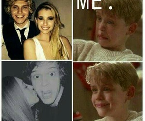 evan peters, emma roberts, and american horror story image