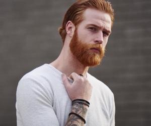 model, beard, and boy image