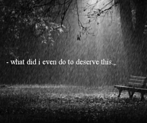 sad, quote, and black and white image