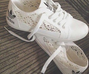 adidas, white, and casual image