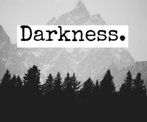 Darkness and wallpaper image