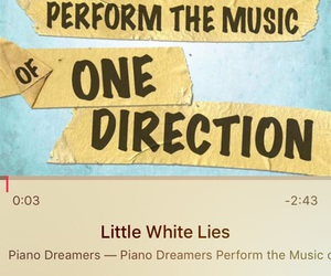 little white lies, niall, and liam payne image