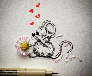 mouse, art, and drawing image