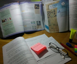 chemistry, stabilo, and study image