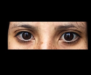 brown and eyes image