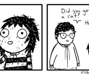 comic, funny, and sarah andersen image