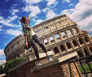 colosseum, europe, and italy image