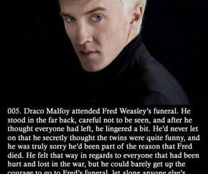 harry potter, draco, and Fred image