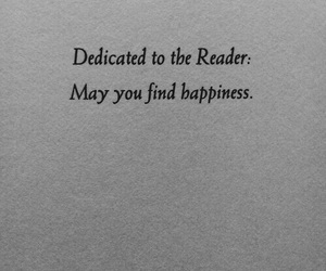 book, quotes, and happiness image