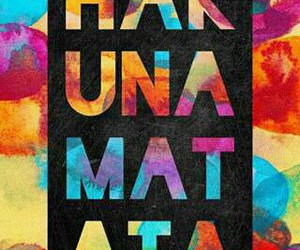 hakuna matata, wallpaper, and disney image