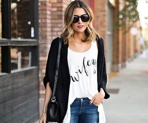 fashion blogger, fashion style, and street style image