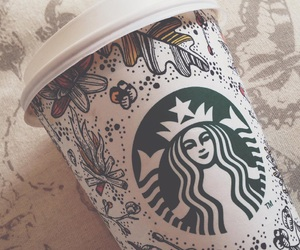 starbucks, tumblr, and winterdays image