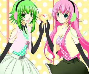 vocaloid, gumi, and megurine luka image