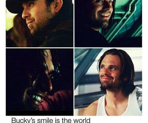 sebastian stan, bucky barnes, and Marvel image