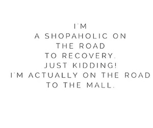 clothes, mall, and quote image