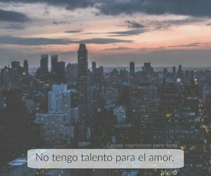 amor, ciudad, and frases image