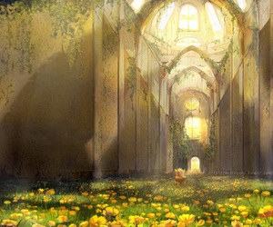 fantasy, anime scenery, and undertale image