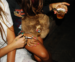 cigs, drinks, and cute image