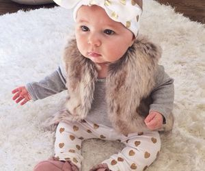 baby girl, style, and children image