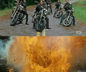 the walking dead, badass, and daryl image
