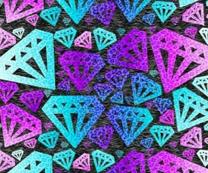 wallpaper, background, and diamond image