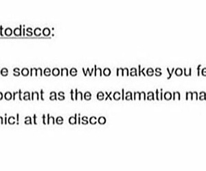 bands, P!ATD, and tumblr image