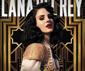 lana del rey, young and beautiful, and the great gatsby image