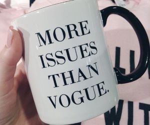 vogue, mug, and cup image