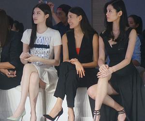 model, fashion, and ming xi image