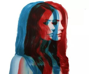 lana del rey, lana, and red image