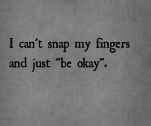 quote, sad, and okay image