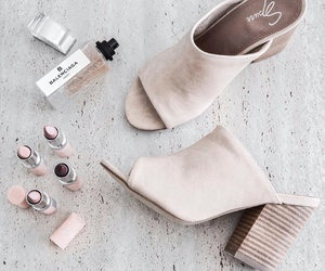 shoes, fashion, and makeup image