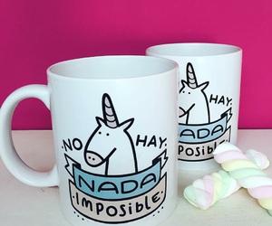 unicorns, tazas, and unicornios image