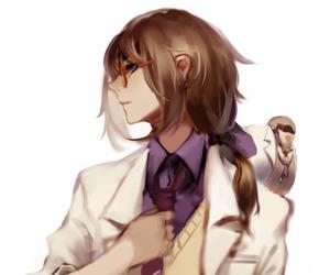 the doctor, hatoful boyfriend, and iwamine shuu image