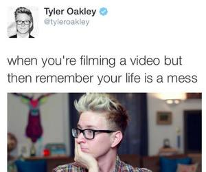 funny, youtuber, and tweets image