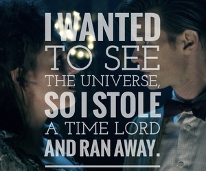 doctor who, quote, and easel image