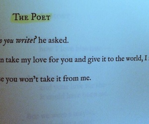 poetry, rejection, and love image