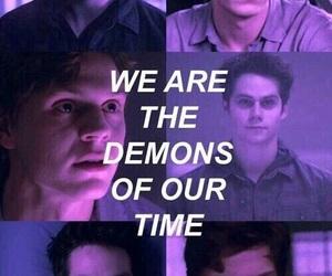 teen wolf, demon, and evan peters image