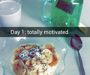 breakfast, fit, and green tea image