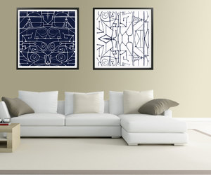 abstract art, picasso painting, and printable art image