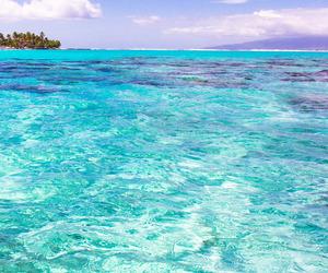 beautiful, beach, and blue image