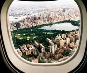 city, travel, and new york image