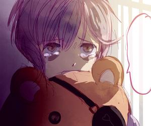 anime, art, and cry image