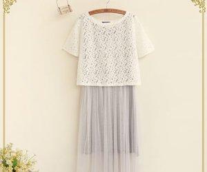 long skirt, mori girl, and natural kei image