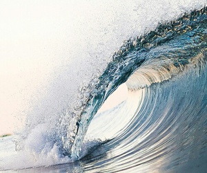water, waves, and beach image