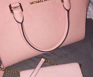 Michael Kors, pink, and bag image